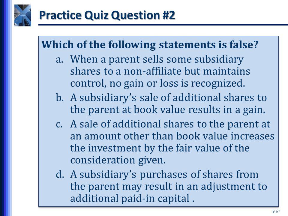 Practice Quiz Question #2