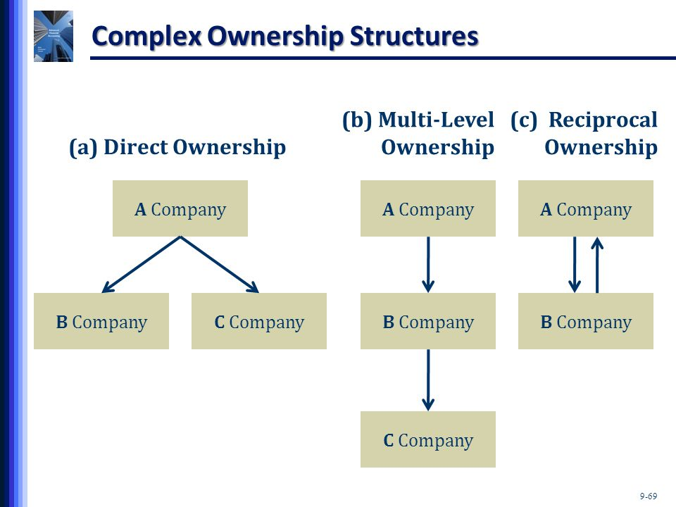 Complex Ownership Structures