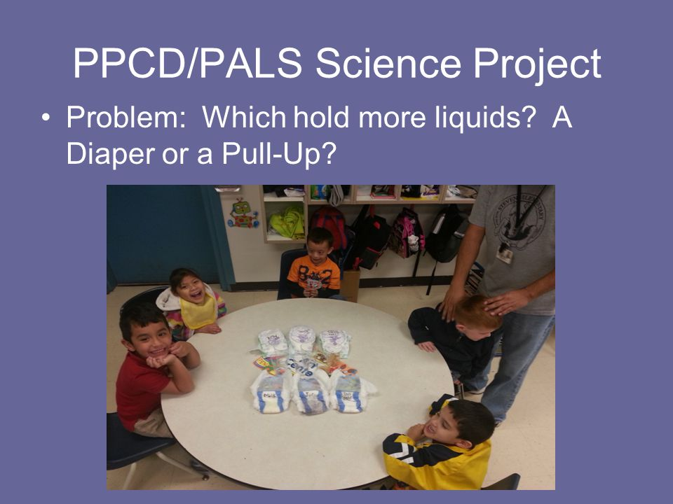 PPCD/PALS Science Project