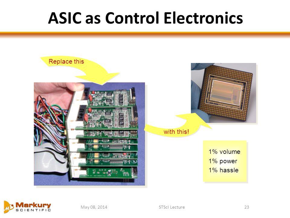 ASIC as Control Electronics