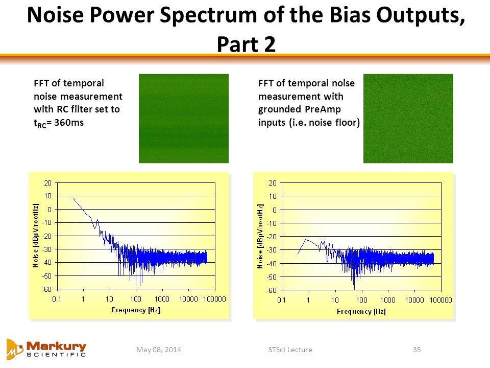 Noise Power Spectrum of the Bias Outputs, Part 2