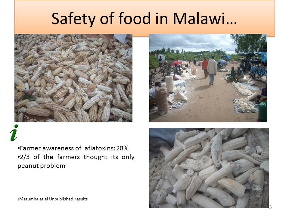 Safety of food in Malawi…