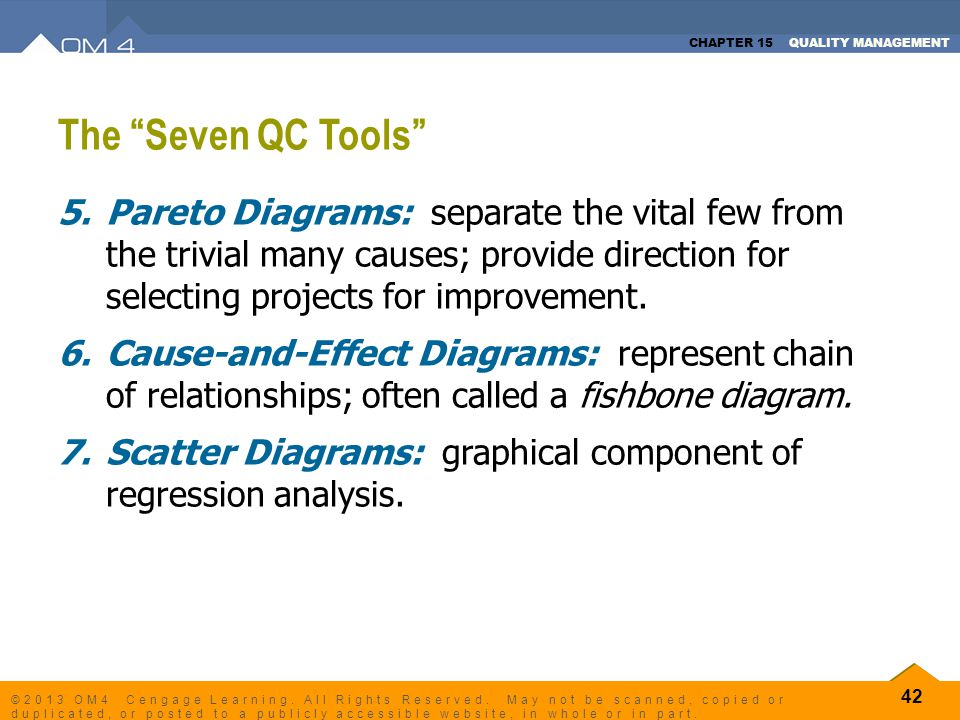 The Seven QC Tools