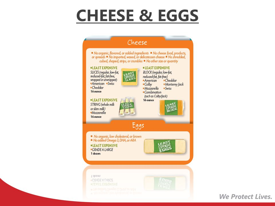 CHEESE & EGGS