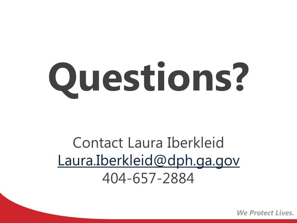 Contact Laura Iberkleid