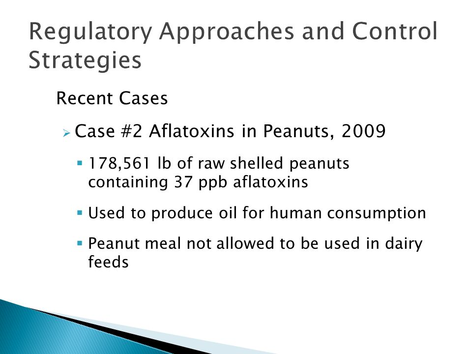Regulatory Approaches and Control Strategies