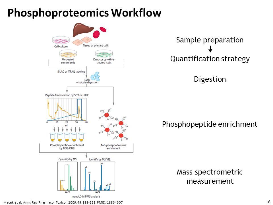 Phosphoproteomics Workflow