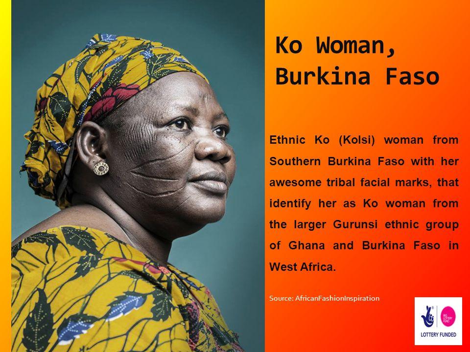 Ko Woman, Burkina Faso