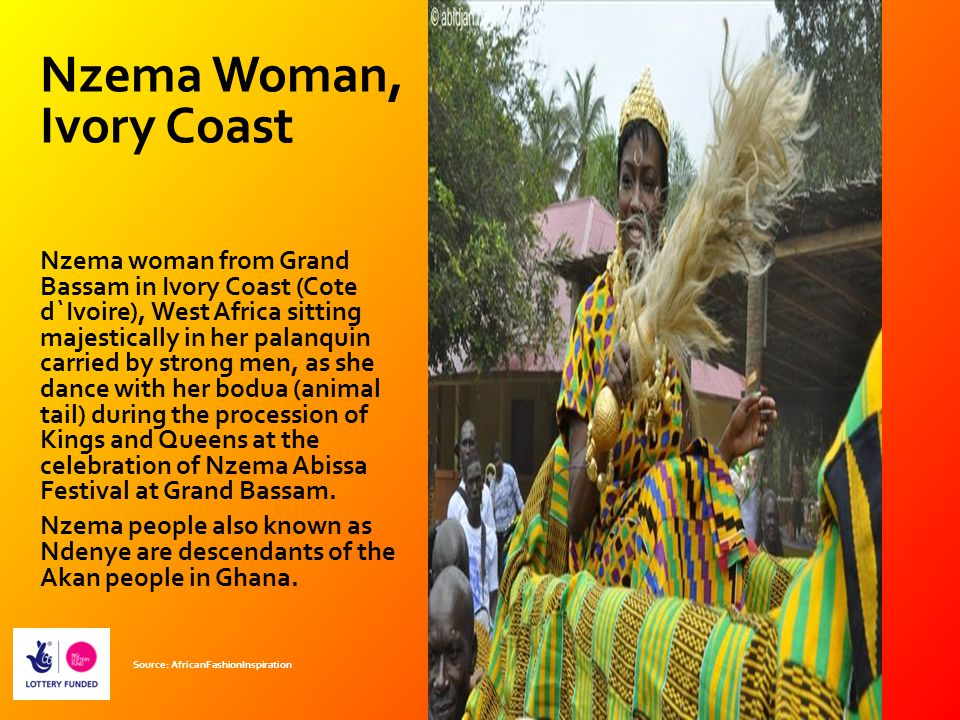 Nzema Woman, Ivory Coast