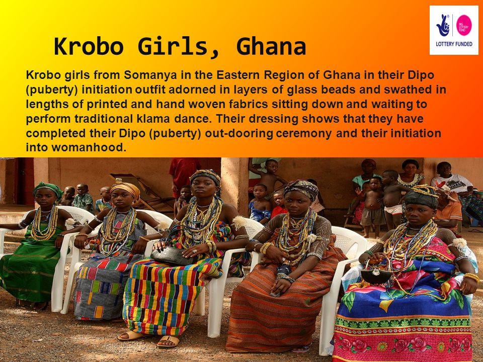 Krobo Girls, Ghana