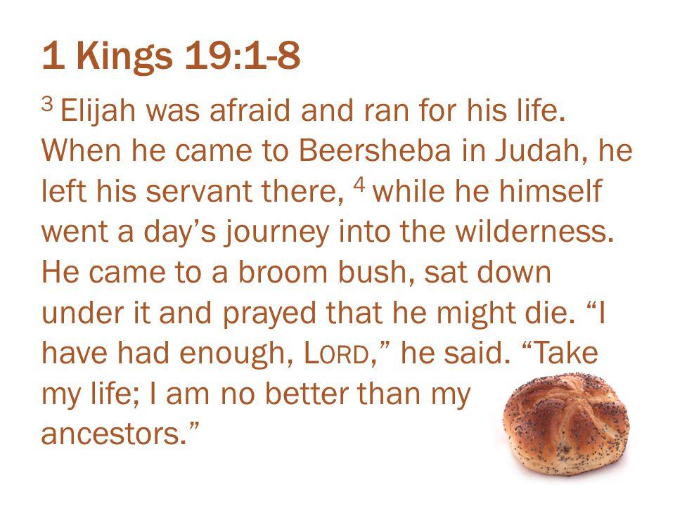 1 Kings 19:1-8