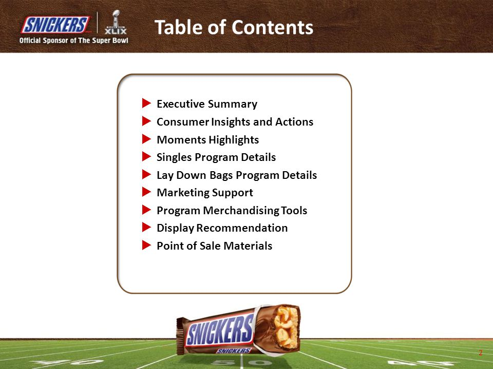 Table of Contents Executive Summary Consumer Insights and Actions