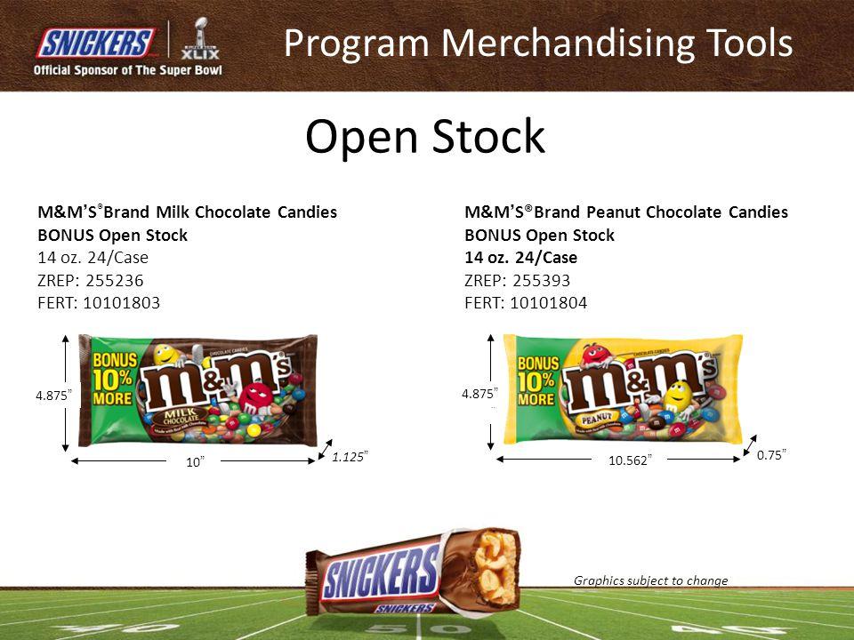 Program Merchandising Tools