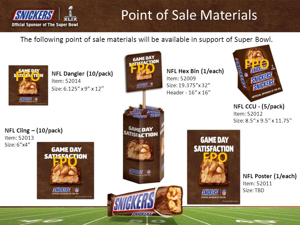 Point of Sale Materials