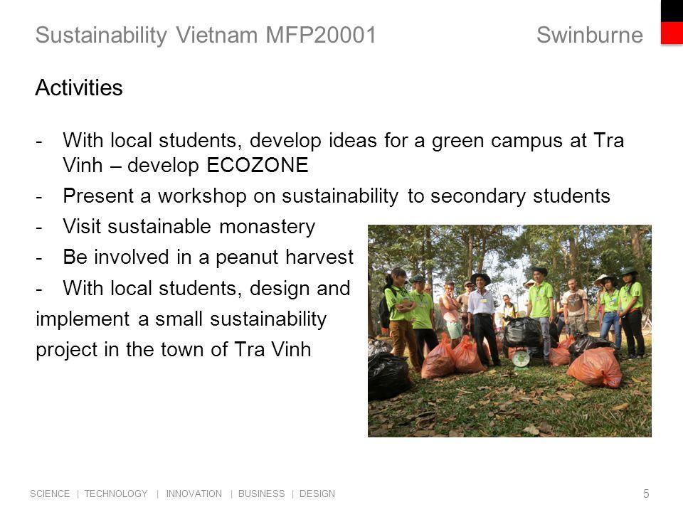 Sustainability Vietnam MFP20001