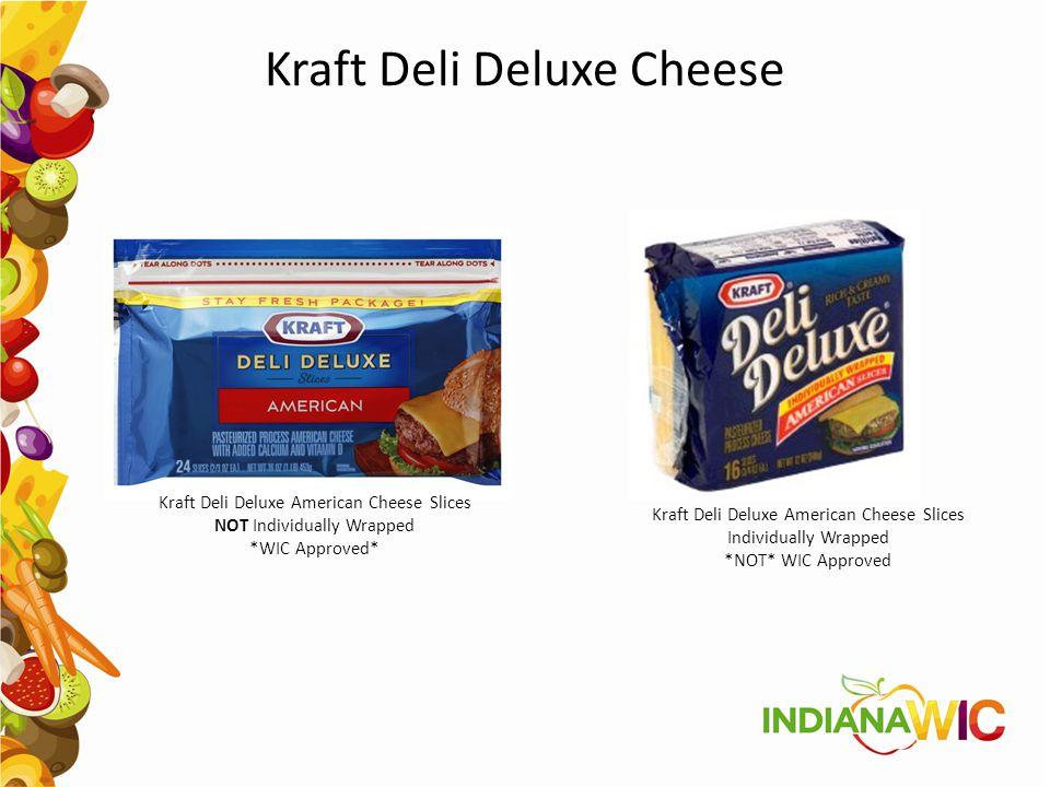 Kraft Deli Deluxe Cheese