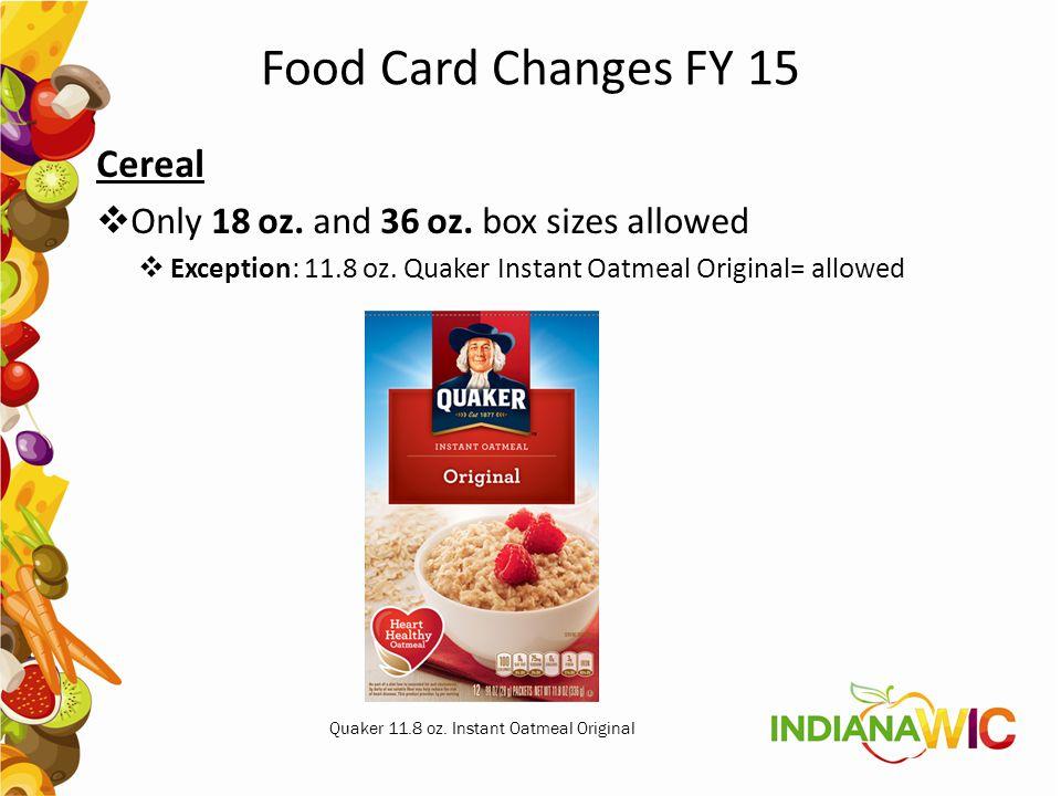 Quaker 11.8 oz. Instant Oatmeal Original