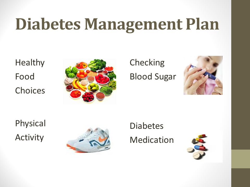 Diabetes Management Plan