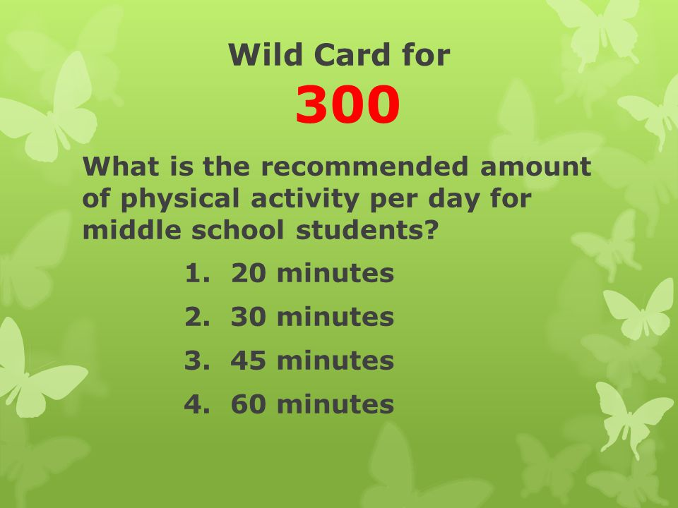 Wild Card for 300