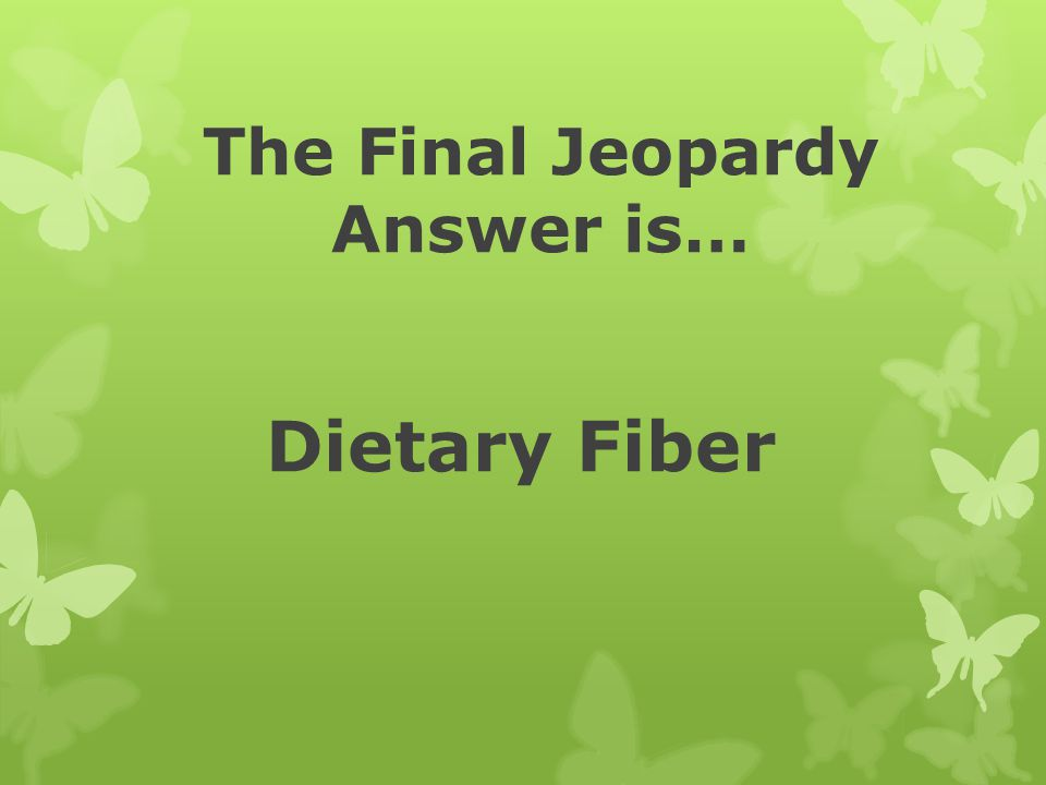 The Final Jeopardy Answer is…