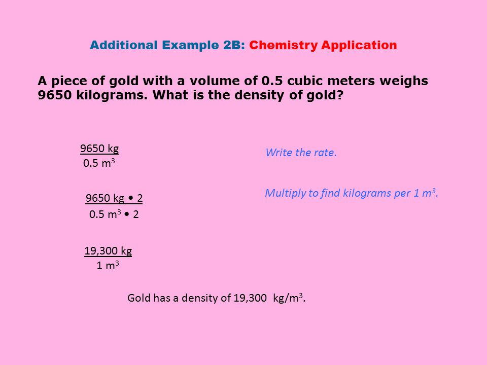 Additional Example 2B: Chemistry Application