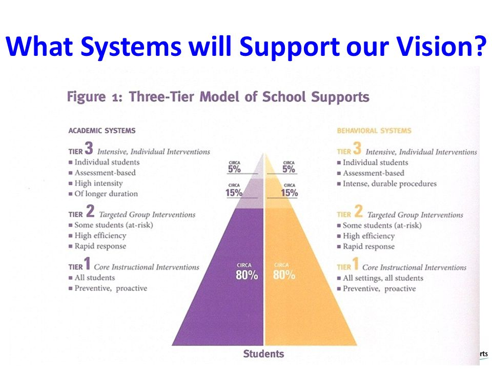 What Systems will Support our Vision