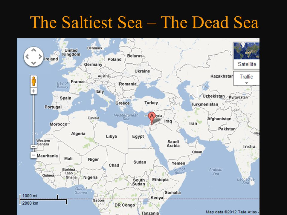 The Saltiest Sea – The Dead Sea