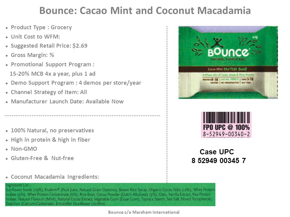Bounce: Cacao Mint and Coconut Macadamia