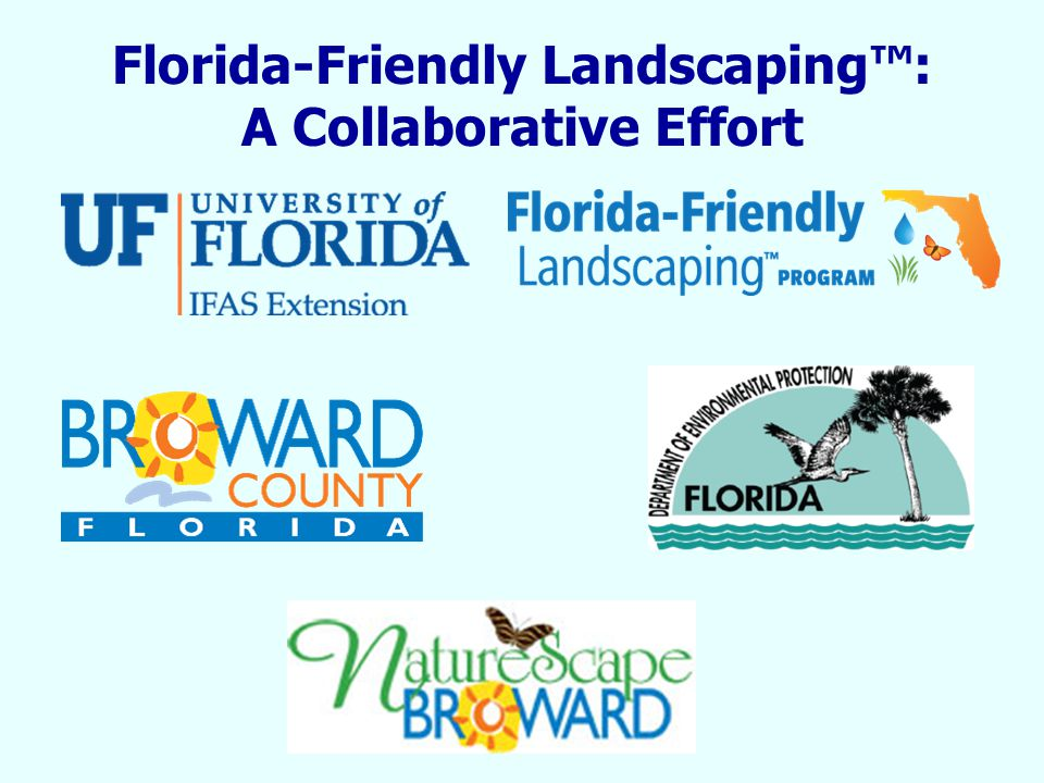 Florida-Friendly Landscaping™: A Collaborative Effort