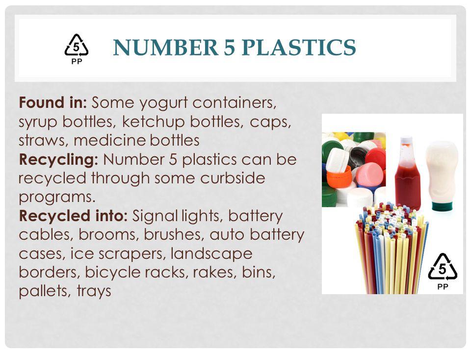 Number 5 Plastics
