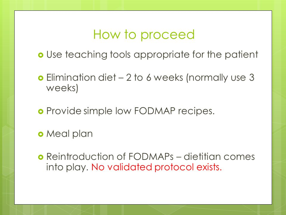 How to proceed Use teaching tools appropriate for the patient