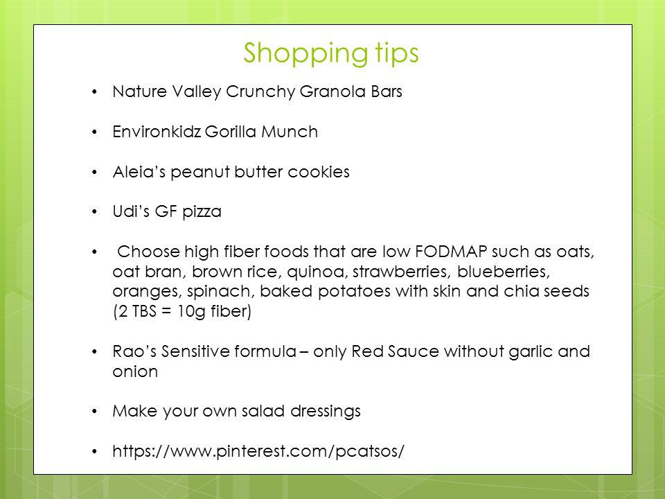 Shopping tips Nature Valley Crunchy Granola Bars