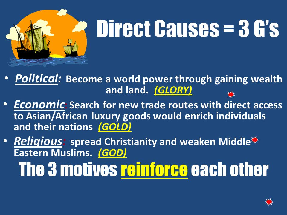 The 3 motives reinforce each other