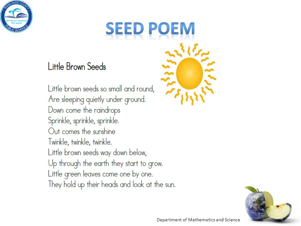Seed Poem Engage: From: A Seed in Need pdf p. 3