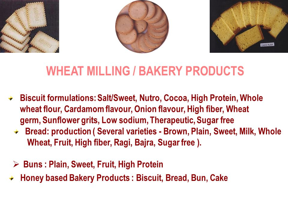 WHEAT MILLING / BAKERY PRODUCTS