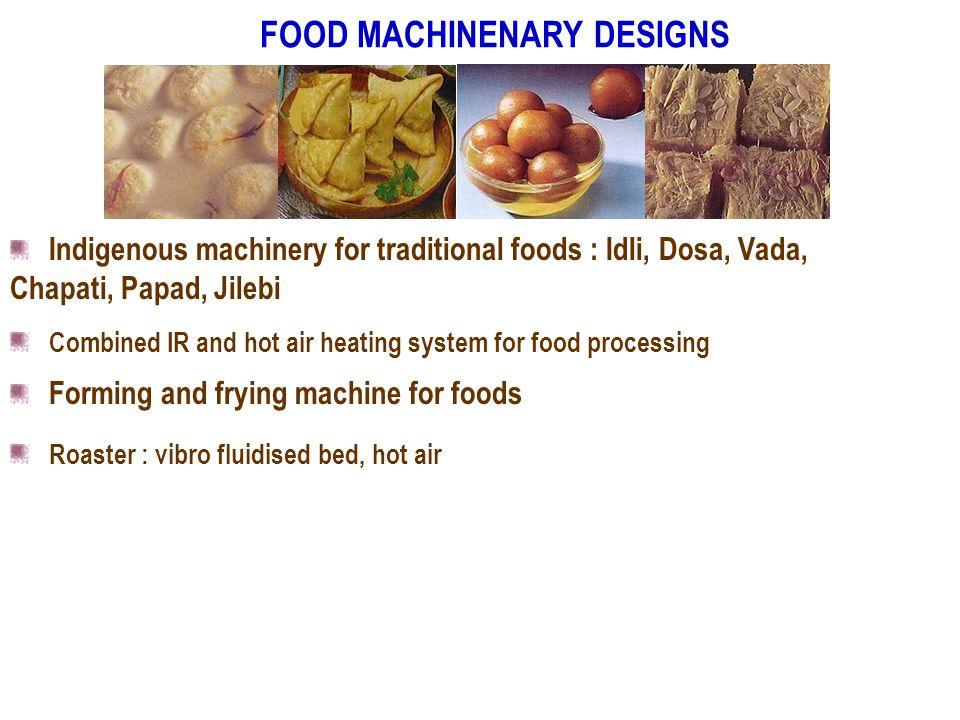 FOOD MACHINENARY DESIGNS