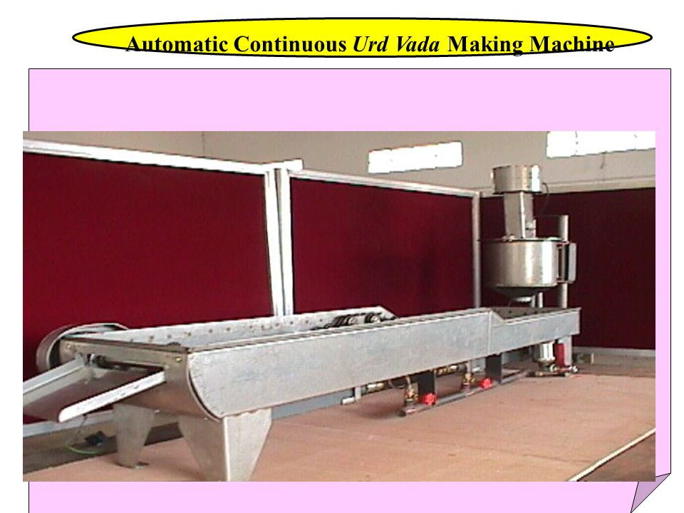 Automatic Continuous Urd Vada Making Machine