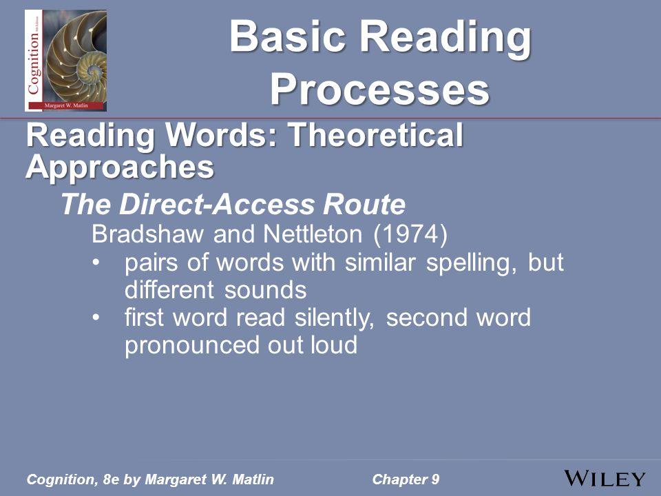 Basic Reading Processes