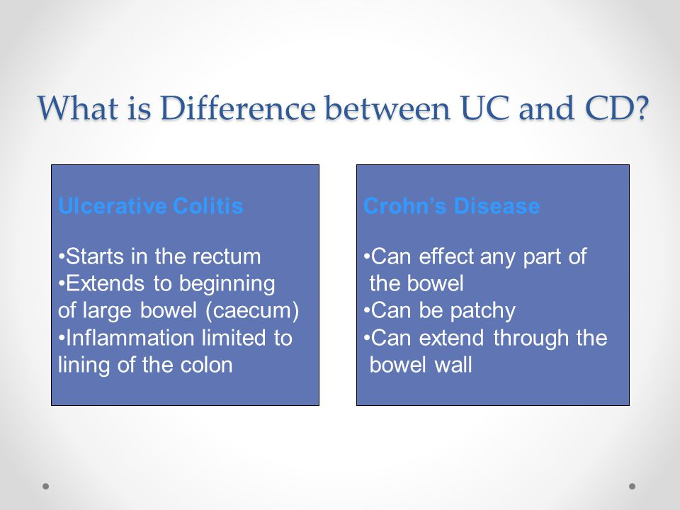 What is Difference between UC and CD