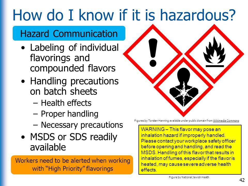 How do I know if it is hazardous