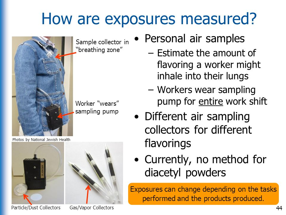 How are exposures measured