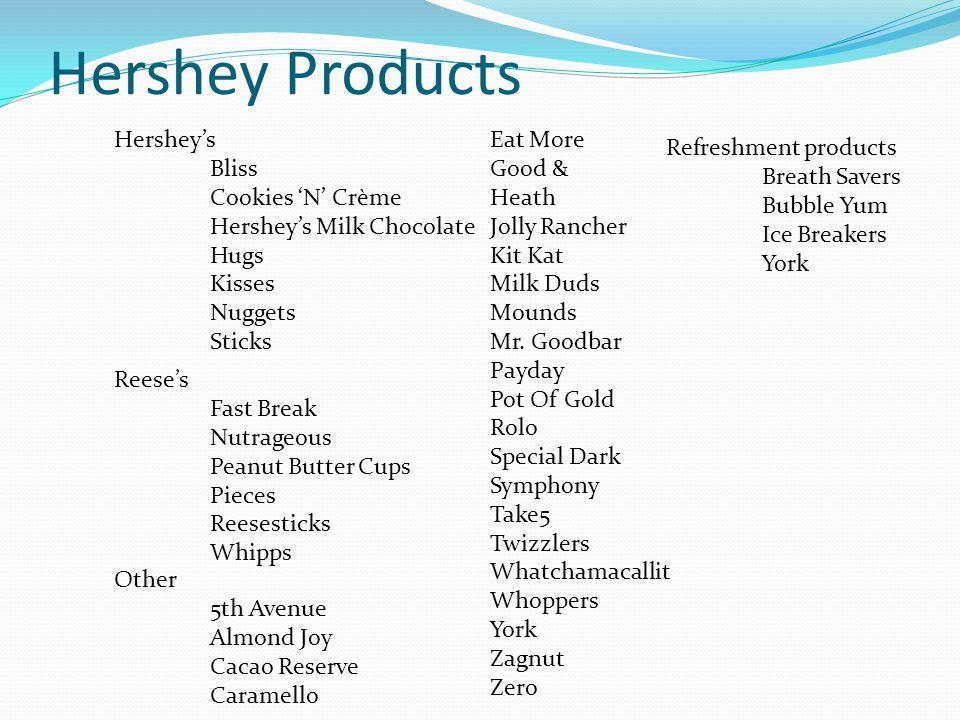 Hershey Products Hershey's Bliss Cookies 'N' Crème