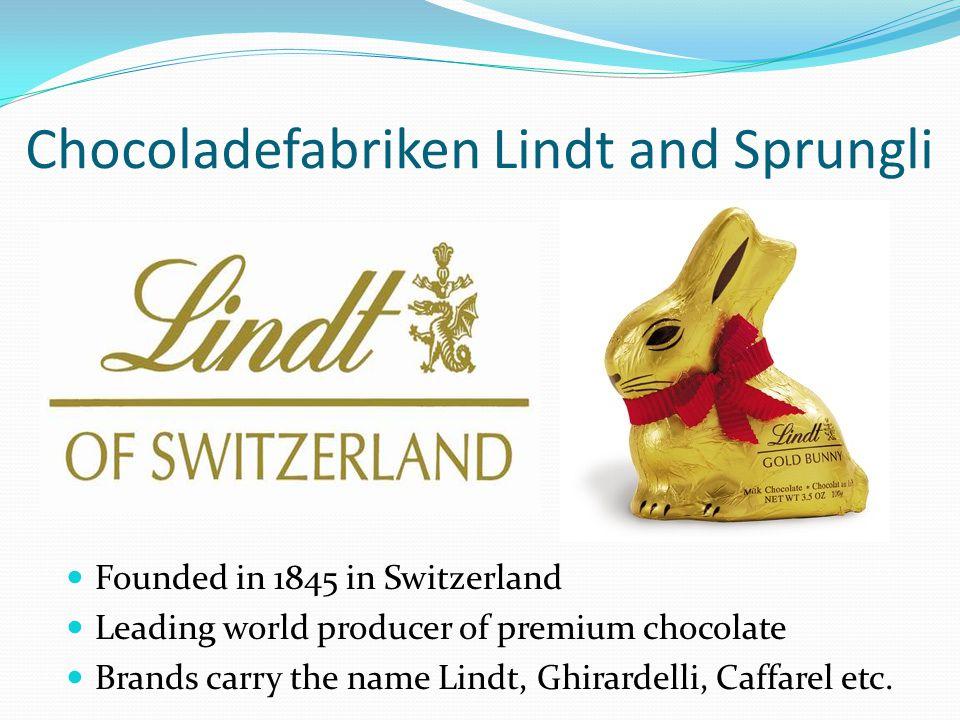 Chocoladefabriken Lindt and Sprungli