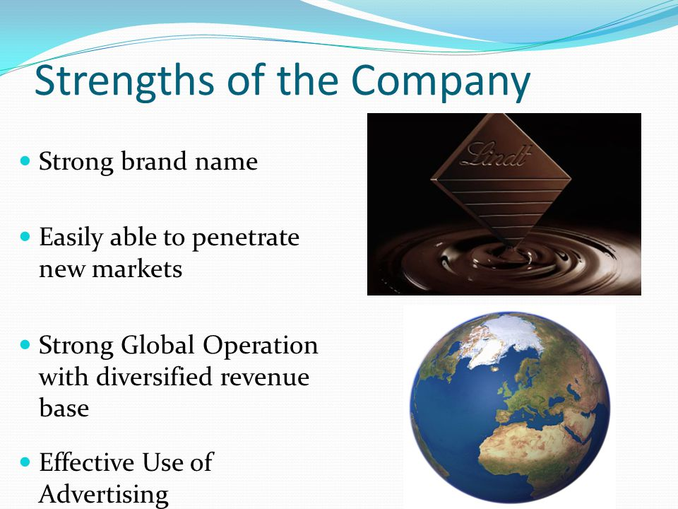 Strengths of the Company