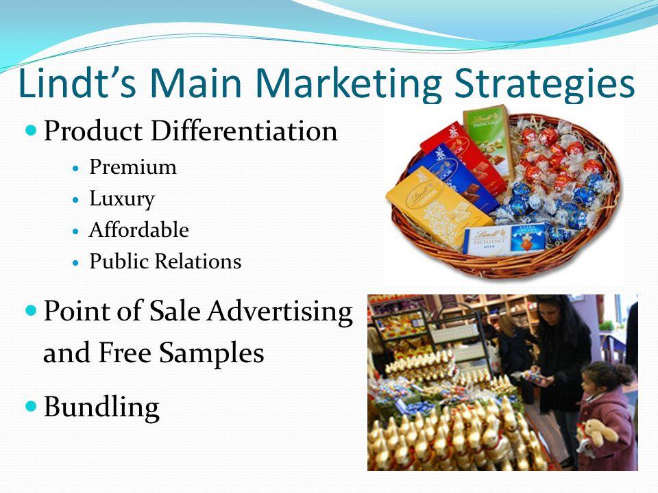 Lindt's Main Marketing Strategies