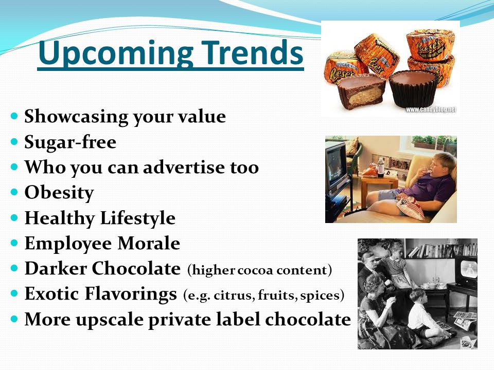 Upcoming Trends Showcasing your value Sugar-free