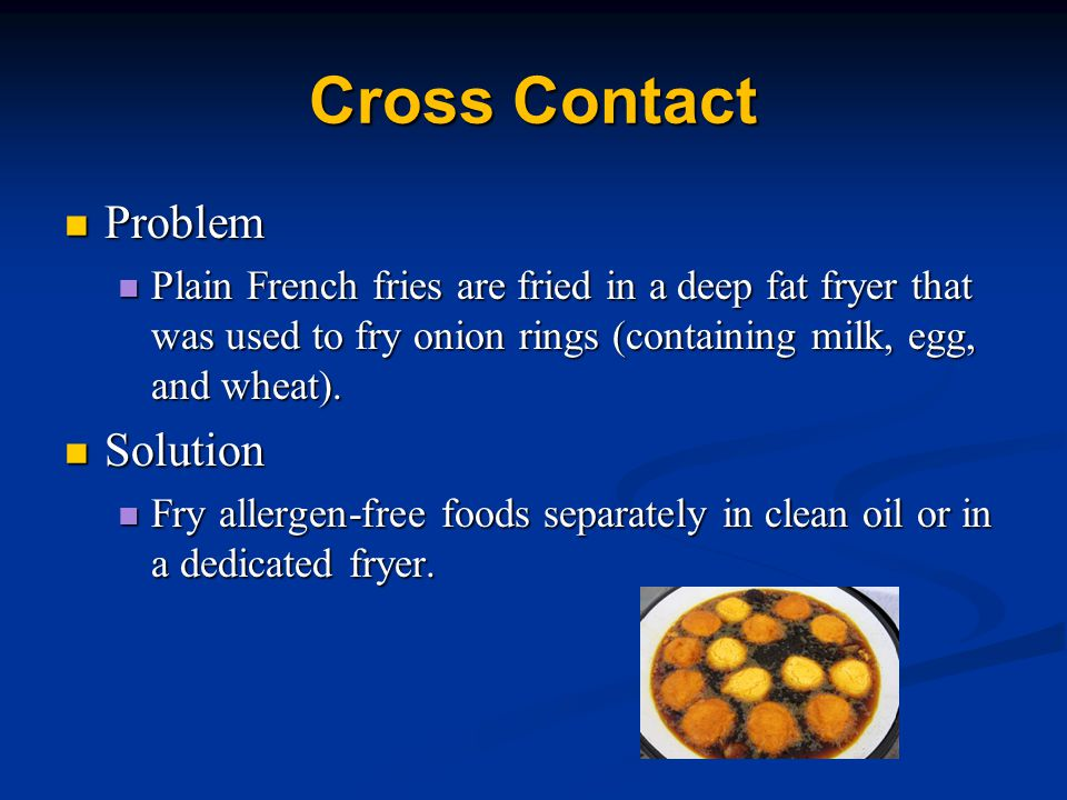 Cross Contact Problem Solution