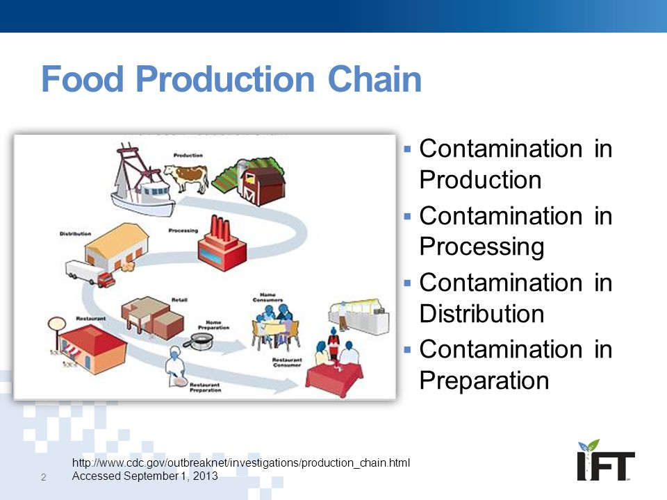 Food Production Chain Contamination in Production