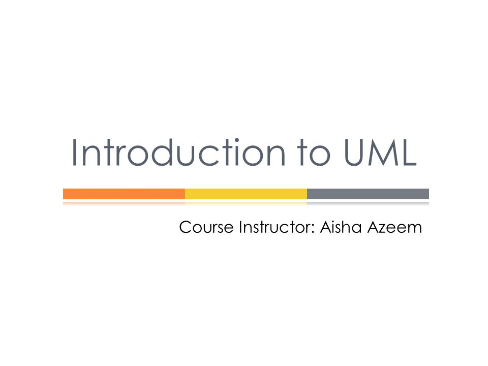 Course Instructor: Aisha Azeem