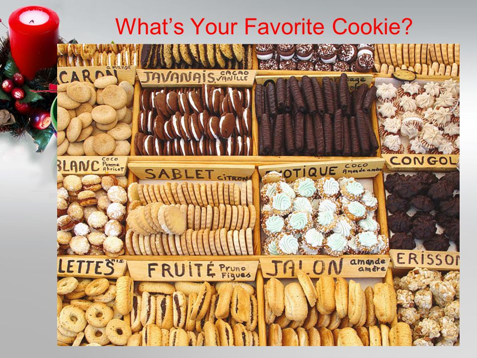 What's Your Favorite Cookie